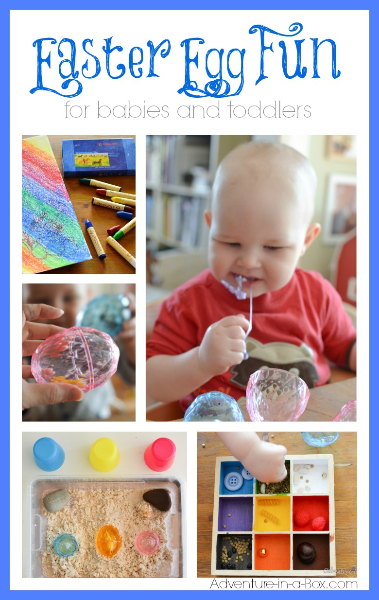 Easter Egg Fun for Babies and Toddlers: 5 simple and fun activities and crafts for introducing eggs to babies and toddlers in anticipation of Easter