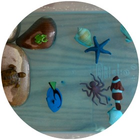 Sea Life: read books with toddlers to find out what is happening underwater, then turn your water table into an aquarium