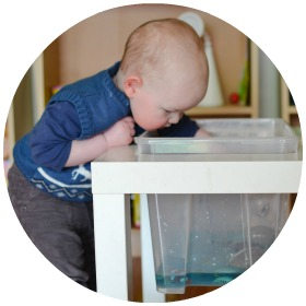 DIY Water Table: turn an Ikea table into a water table for sensory play and other fun kids activities!