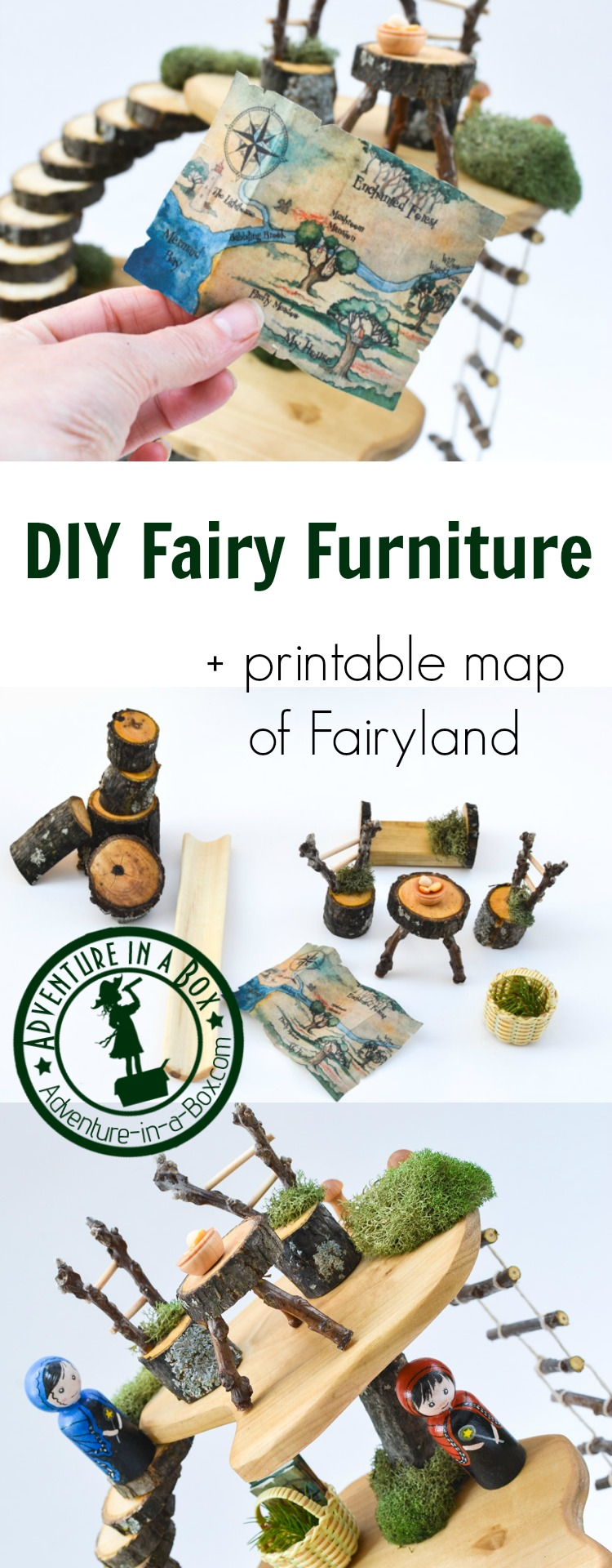 Printable Dollhouse Furniture Patterns Diy Project How To Make Fairy Furniture