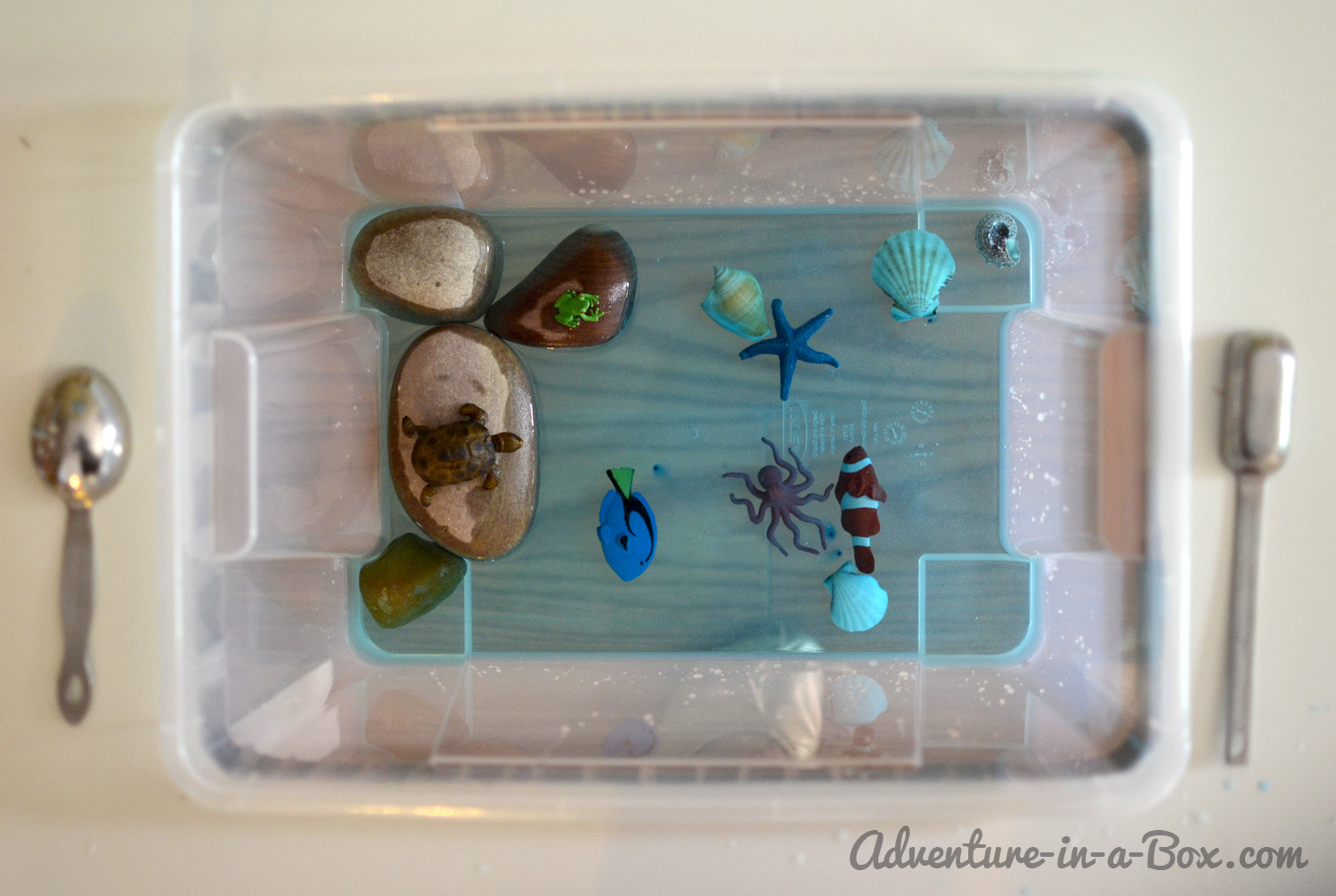 Sea Life for Toddlers: Books and Games