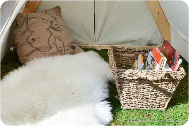 DIY Project: How To make a Backyard Play Tent