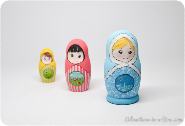 How to Make Matryoshka Nesting Dolls || Adventure in a Box