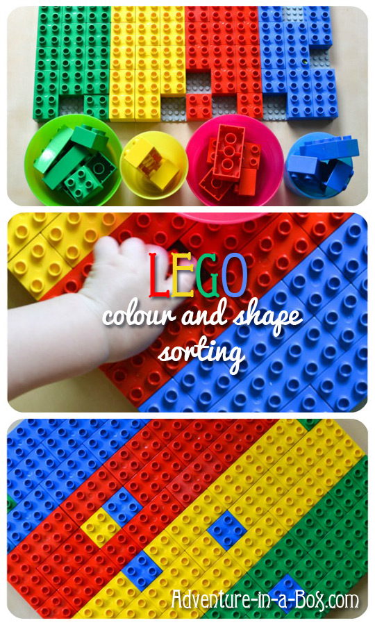 lego colour and shape sorting simple sorting game for toddlers adventure in - Colour Game For Toddlers