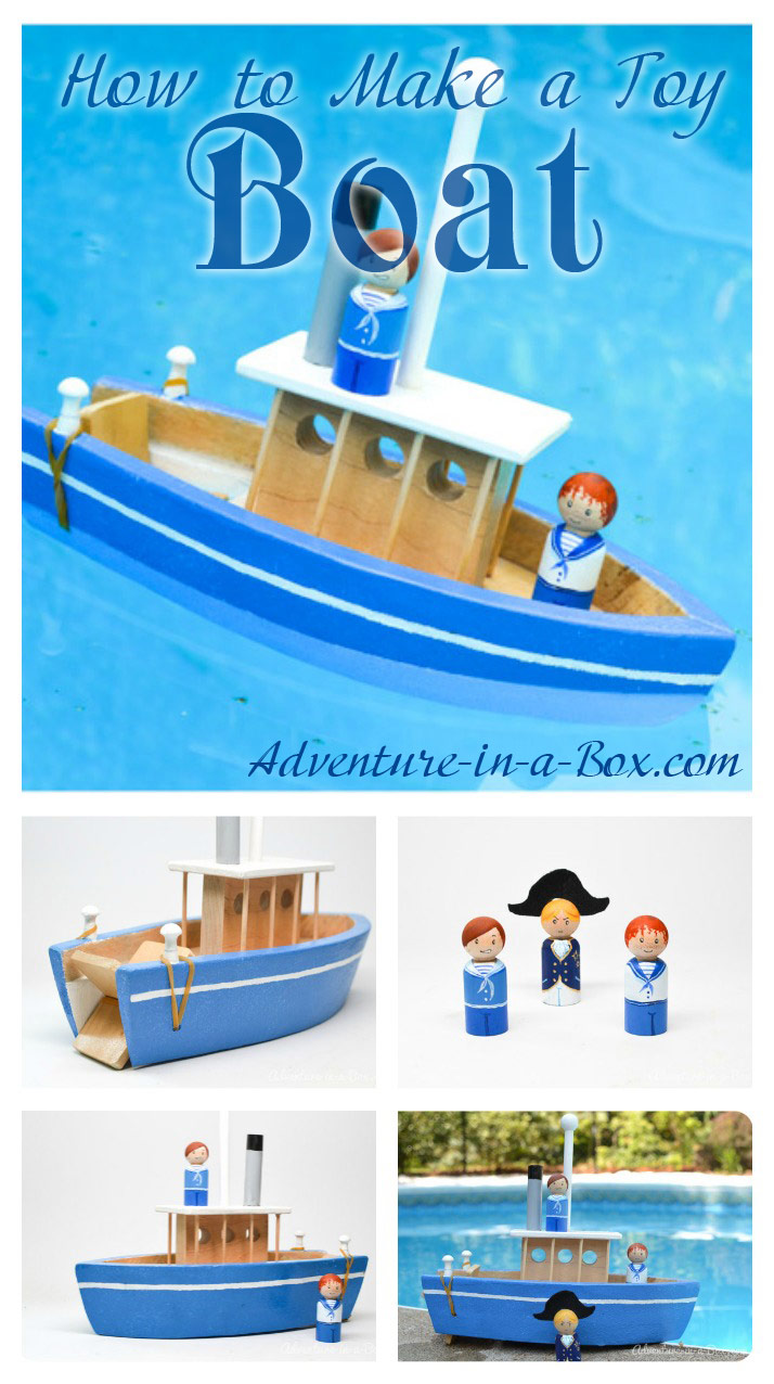 How to make a toy paddle boat make a toy boat your kids will never want to go to the lake or solutioingenieria Choice Image