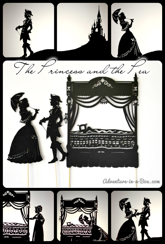 The Princess and the Pea: Shadow Puppets Show