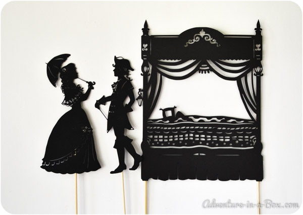 {Guest Post} The Princess and the Pea: Shadow Puppet Show