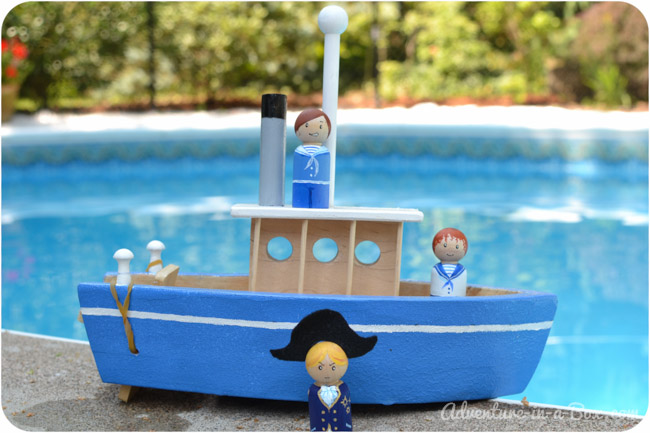 To make a toy paddle boat make a toy boat your kids will never want to go to the lake or solutioingenieria Choice Image
