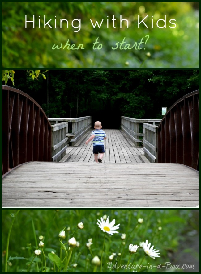 Hiking with Children: When to Start? || Tips on hiking with young children and best places for hiking in Ontario