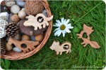 How to Make Wooden Teethers, Rattles and Simple Toys