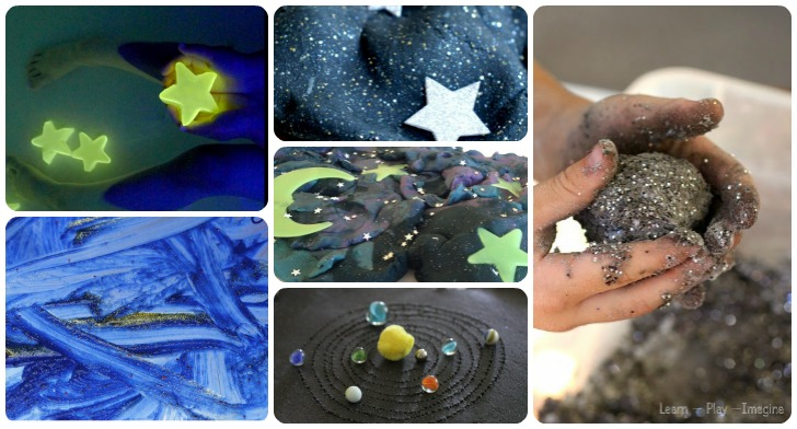 Night Sky DIY Crafts: Moon, Planets of the Solar System, Galaxies and Distant Stars for Toddlers and Children