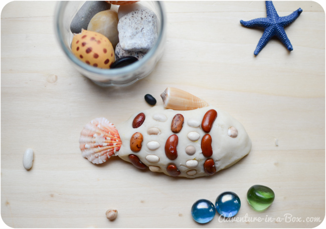 Seaside Play Dough: Making Fish, Snail and Lobster || Fun sculpting with toddlers