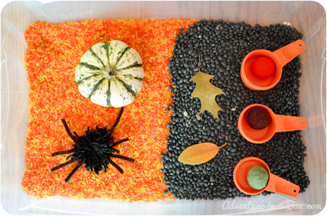 Halloween Party for Babies and Toddlers: Decorations, Treats and Sensory Bins Fun