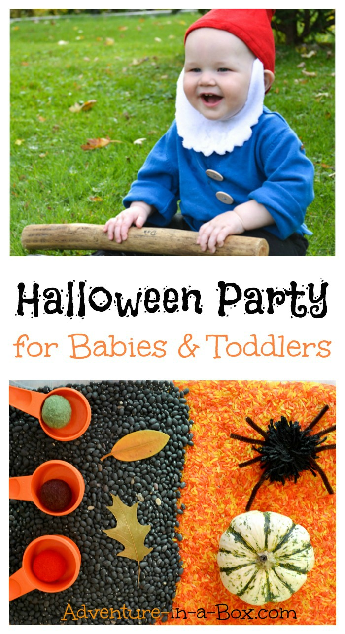 Halloween Party for Babies and Toddlers: Decorations, Treats and Sensory Fun
