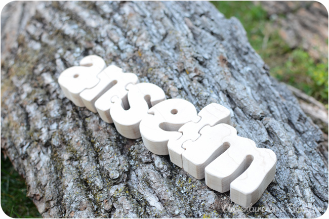 how to make a personalized name puzzle