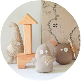 Make Toy Ghosts for a Castle-Themed Nursery: DIY Tutorial with a Pattern
