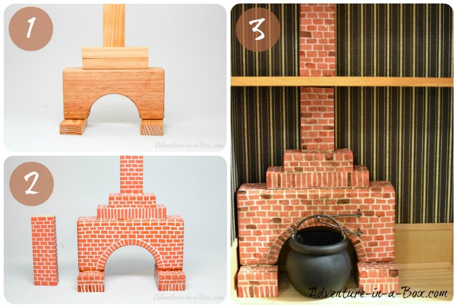I would like to share with you a tutorial on how to make a simple fireplace