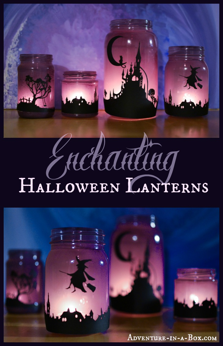 enchanting halloween lanterns turn mason jars into lanterns and explore light with children - How To Make Halloween Lanterns