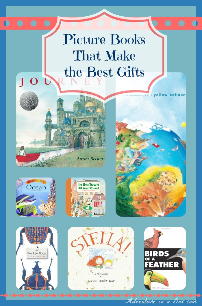 Picture Books that Make the Best Gifts: whether you are shopping for Christmas or Birthdays, these books will delight children of different ages