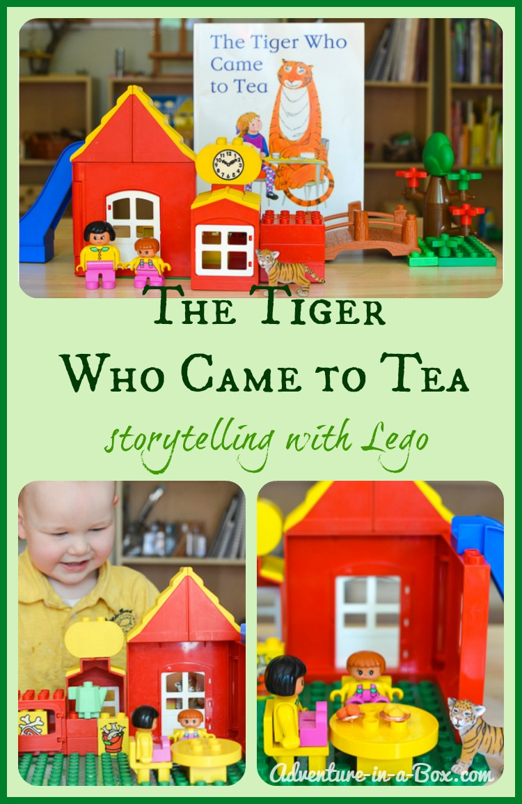 The Tiger Who Came to Tea: Picture Book Review and Storytelling with Lego