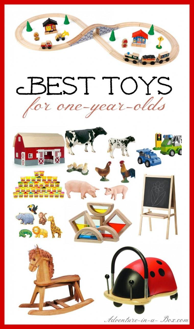 Best Toys for One-Year-Old: an extensive Christmas gift guide for parents of babies and toddlers