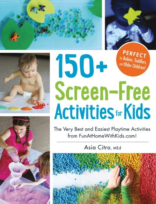 150+ Screen-Free Activities for Kids: Book Review