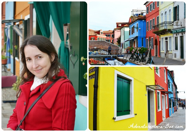 Brightly Coloured Houses of Burano