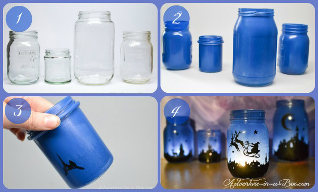 magical christmas lanterns diy tutorial on how to turn mason jars into lamps and create