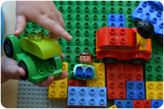 Best Toys for One-Year-Olds: Duplo Cars are my son's favourite toys