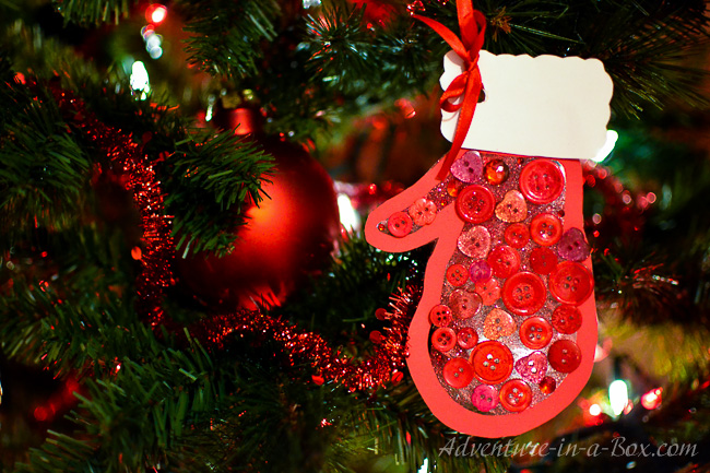Mitten: Kid-Made Christmas Ornament