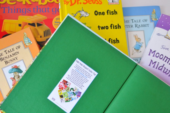 Bookcrossing for Kids: spread a love for reading - give a book to a stranger    100 Acts of Kindness Challenge