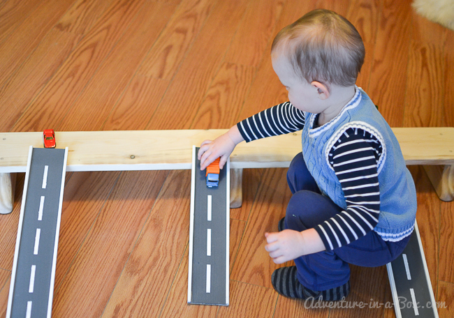 Wooden Road Tracks And Ramps Diy Project