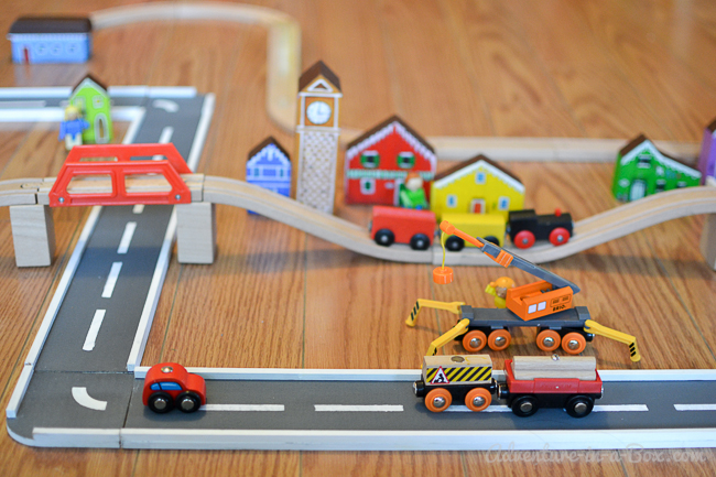 DIY Wooden Road Tracks and Ramps: how to make a simple set of wooden ...