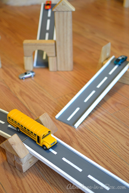 DIY Wooden Road Tracks and Ramps: how to make a simple set of wooden road tracks and ramps for hours of entertainment