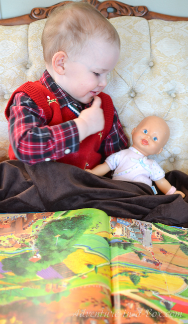 Should Boys Play with Dolls? Find an answer that one Dad gives, based on his parenting experience.