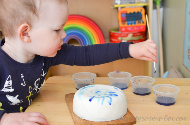 Cake Painting with My Family: Have you ever tried painting on cakes? Kids will love the opportunity to create their own doodle cake, and if other members of the family chime in, it will be a truly fun and delicious experience.