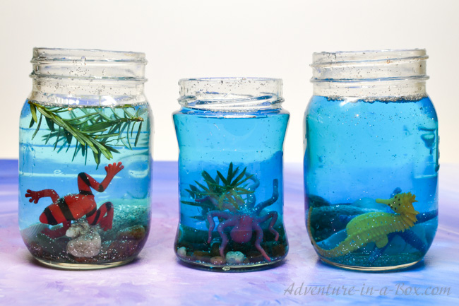 Underwater I Spy Jars