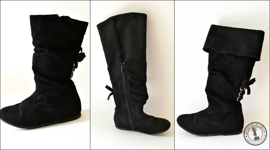 How to make a pair of musketeer's boots