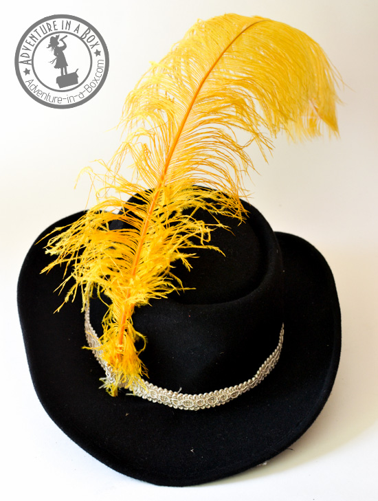 How to make a musketeer's hat.