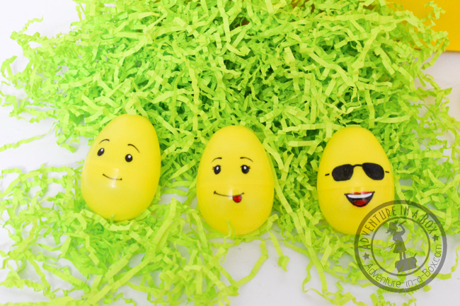 Lego Easter Egg Craft: mix and match game