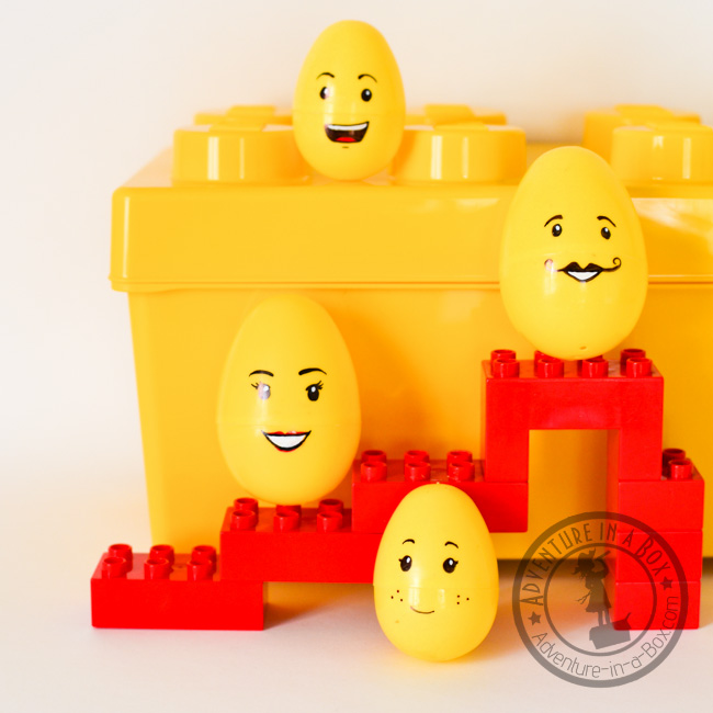 Lego Easter Egg Craft: our family