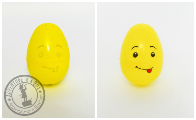 Lego Easter Egg Craft: materials you need