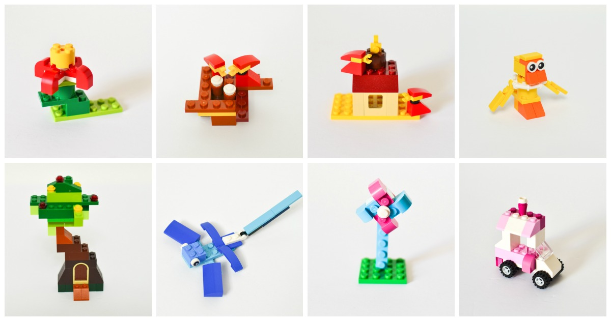12 Spring Lego Projects for Easter Egg Hunt or Basket