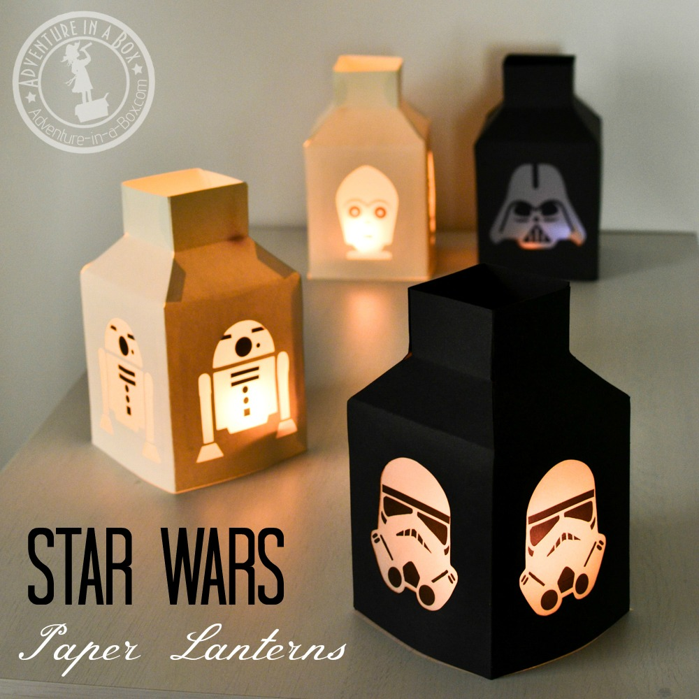 star wars paper lanterns make this simple star wars craft with paper