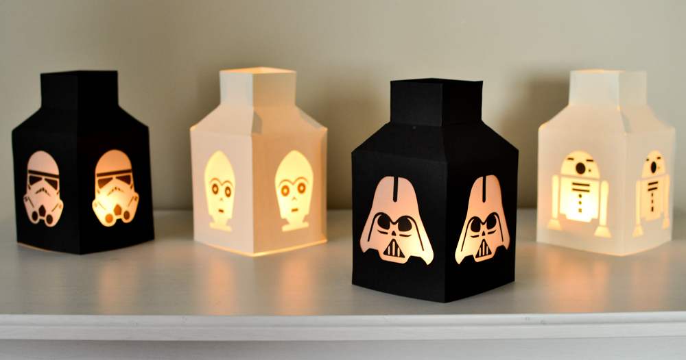 Star Wars Paper Lanterns
