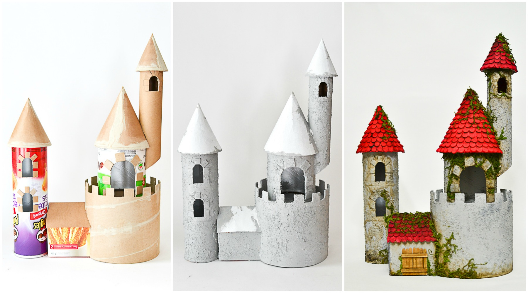 Diy make a castle from recyclable materials adventure in for Build a castle house