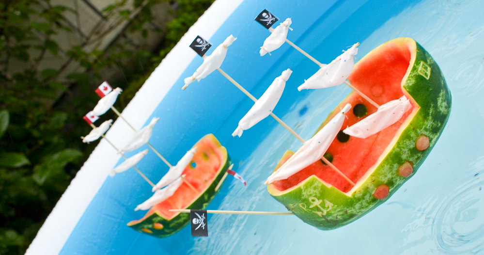 Make Watermelon Ships