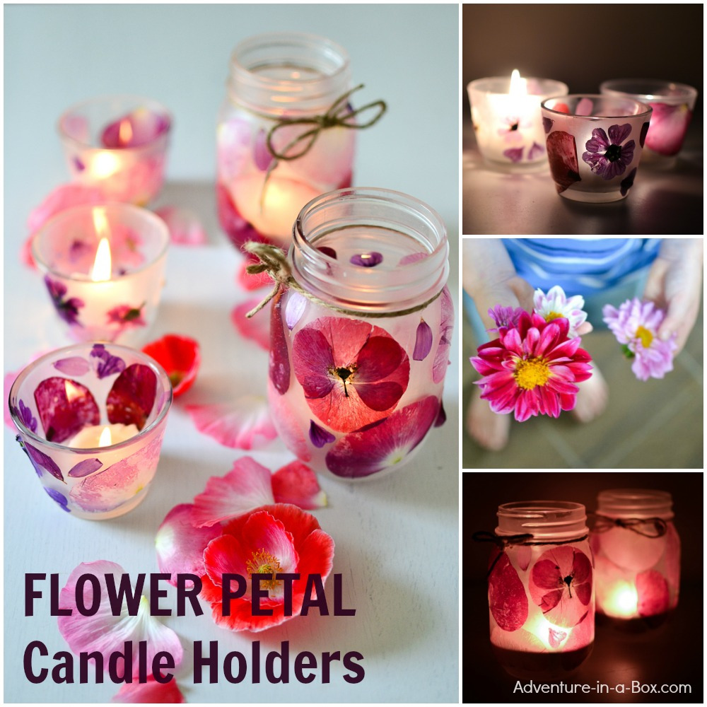 Beautiful flower craft for kids and adults to make together to preserve summer memories. Make them from pressed flower petals or try artificial ones.