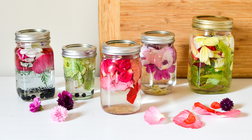 Flower Canning Pretend Play
