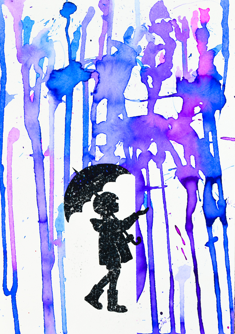 Rain Painting Printable Art Prompt Adventure In A Box